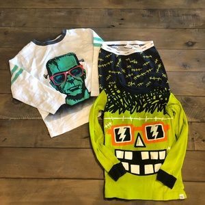 GAP Halloween pjs and shirt size 4T